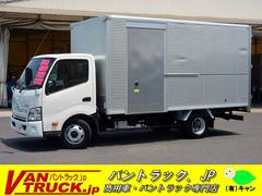 ダイナトラックワイドロング アルミバン サイドドア 積載3000kg