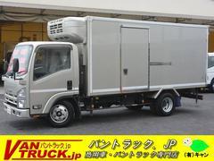 エルフトラックロング 冷凍車 東プレ −5度 積載2950kg サイドドア