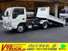 エルフトラック10尺 強化 ローダーダンプ 新明和製 積載3000kg