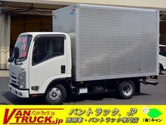 エルフトラック10尺 アルミバン 積載2000kg フルフラットロー