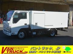 エルフトラックセミロング 冷凍車 積載2t 菱重 低箱 間仕切 サイドドア