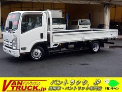 エルフトラックワイドロング 平ボディー 積載2000kg フルフラットロー