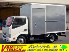 ダイナトラック10尺 アルミバン 積載2000kg 4WD サイドドア