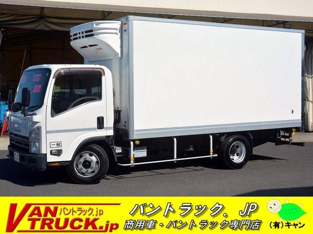 いすゞ ワイドロング 低温冷凍車 積載2950kg リア三枚扉 菱重