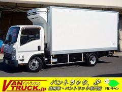 エルフトラックワイドロング 低温冷凍車 積載2950kg リア三枚扉 菱重