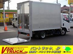 エルフトラック10尺 アルミバン 積載1900kg 垂直リフト サイドドア
