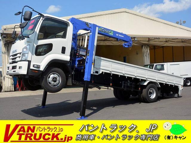 いすゞ 4段クレーン タダノ 2.3t積 ハイジャッキ ラジコン