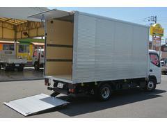 キャンター標準ロング アルミバン リフト 1.7トン AT
