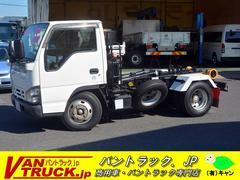 エルフトラックアームロール 新明和 積載3000kg ツインシリンダー