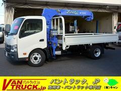 ダイナトラックワイドロング 4段クレーン タダノ 積載3t ラジコン