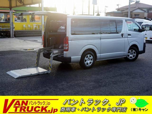 トヨタ ロングDX 5ドア リフト付 6名 小窓 電格ミラー 3型
