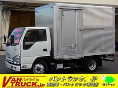 エルフトラック10尺 アルミバン 積載2000kg 4WD サイドドア