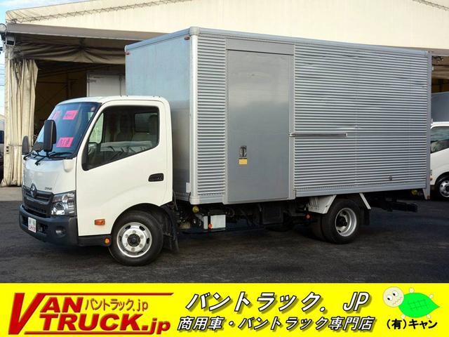 トヨタ ワイドロング アルミバン 積載3000kg サイドドア
