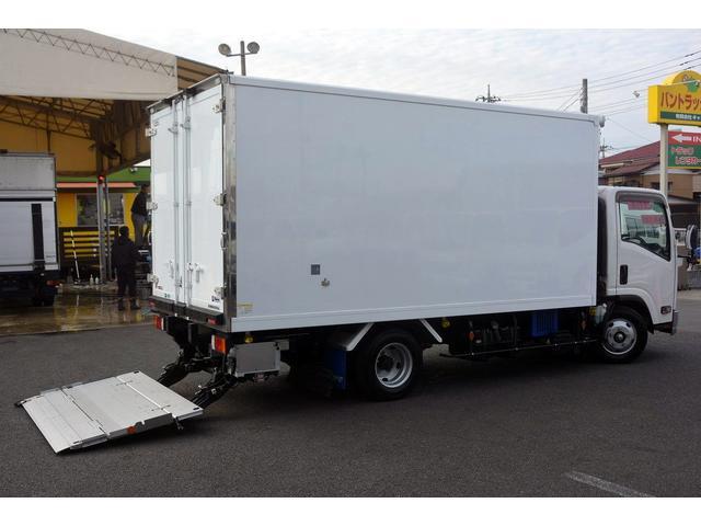いすゞ ワイドロング 冷凍 2t サイドドア 格納ゲート スタンバイ