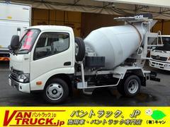デュトロ10尺 ミキサー車 カヤバ製 3t積 最大混合容量1.2立米