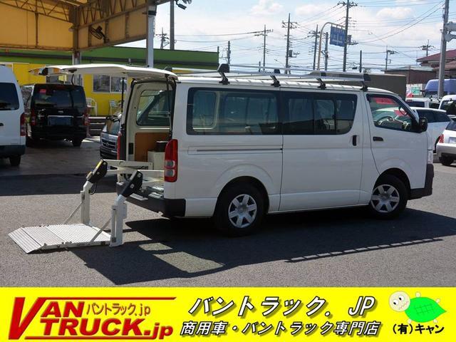 トヨタ ロング DX 5ドア 6人乗 パワーゲート 小窓 キャリア