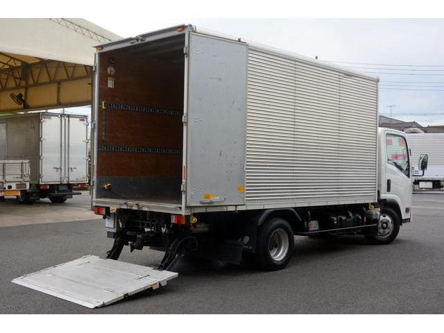 いすゞ ロング アルミバン 格納ゲート 積載2000kg サイドドア