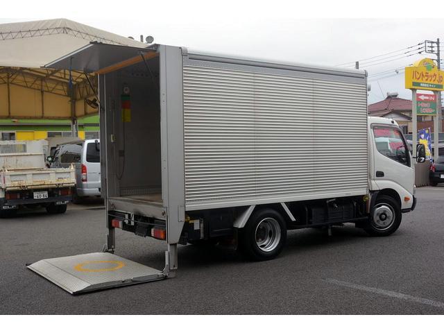 トヨタ 標準幅 セミロング アルミバン パワーゲート 2.85t積