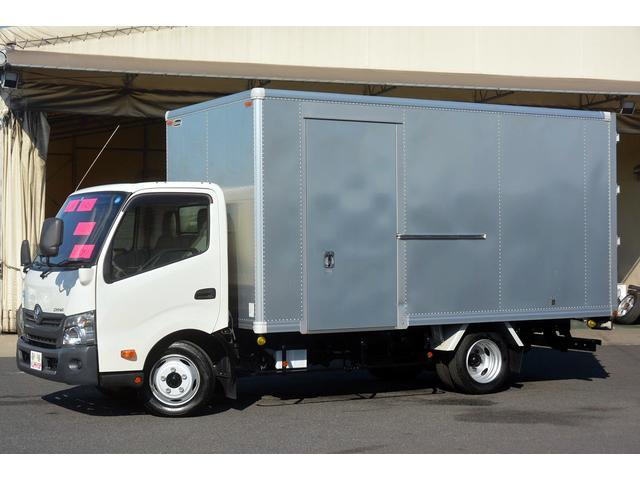 トヨタ ワイドロング アルミバン 積載2000kg サイドドア