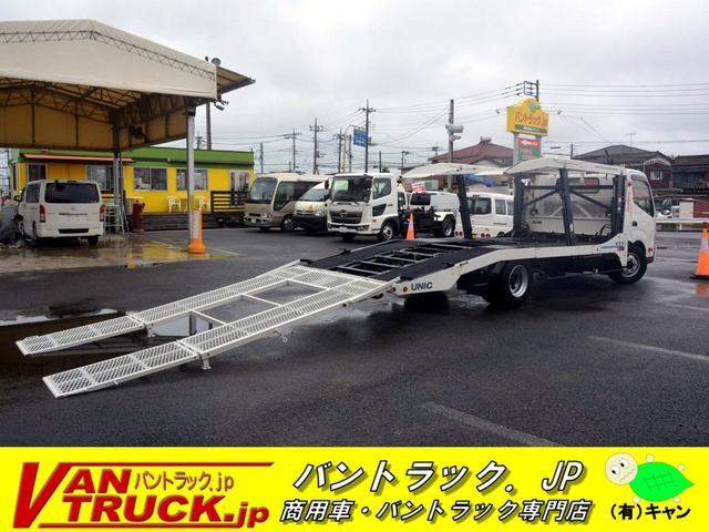 トヨタ 積載車 2台積 積載3450kg 古河ユニック製 ラジコン
