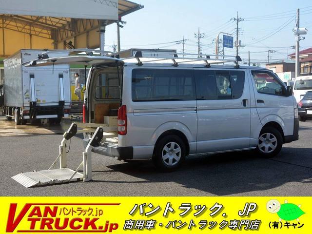 トヨタ ロングDX 5ドア ガソリン 6人乗 パワーゲート 3型