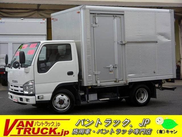 いすゞ 10尺 アルミバン 4WD サイドドア AT 積載2t