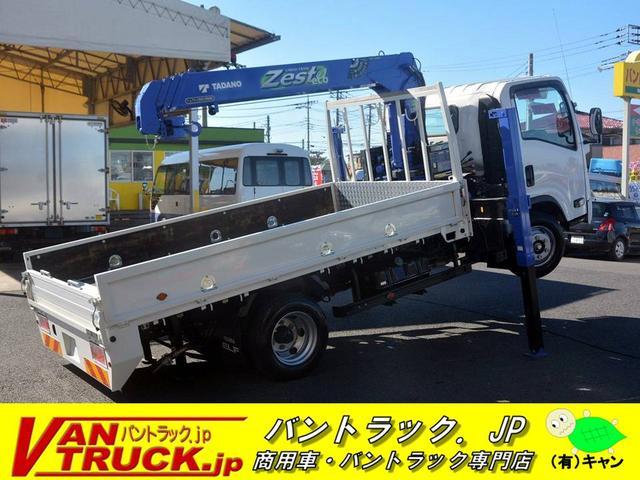いすゞ ワイドロング 4段クレーン ハイジャッキ ラジコン タダノ