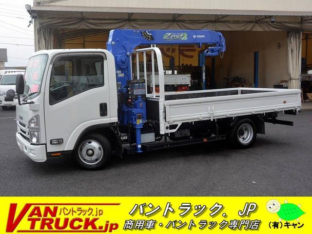 いすゞ ワイドロング 4段クレーン ラジコン フックイン 2.63t