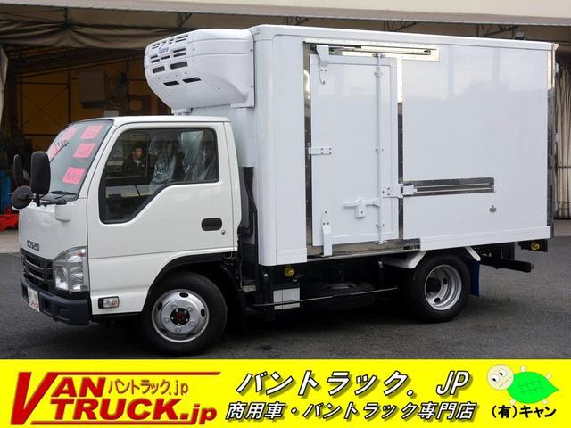 いすゞ 10尺冷蔵冷凍車 4WD 3トン -30度 サイドドア AT
