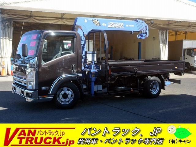 いすゞ ワイドロング 6段クレーン 3.55t ラジコン Rジャッキ