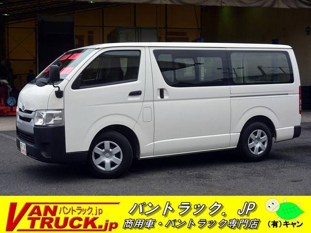 トヨタ ロングDX 5ドア ガソリン 6人乗 小窓 バックアイ 4型