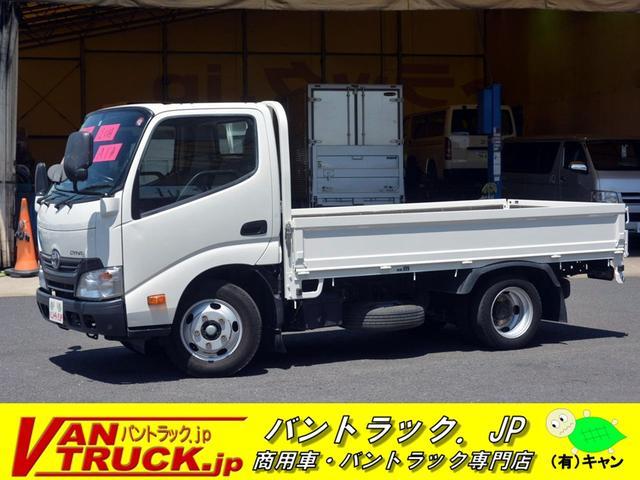 トヨタ ダイナトラック 10尺 平ボディー ジャストロー 2t ETC 左電格ミラー