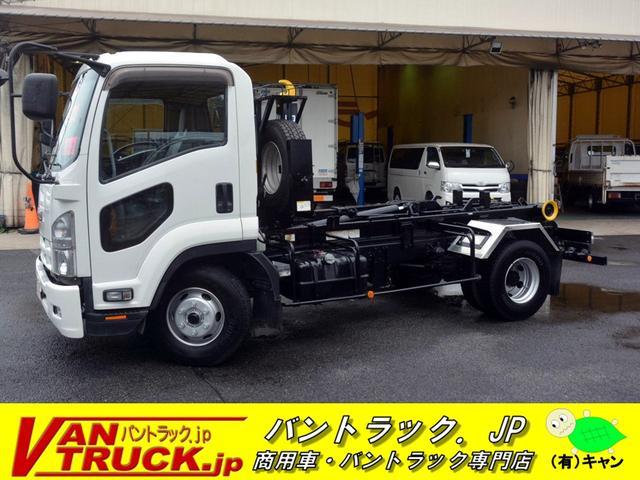 いすゞ アームロール 新明和 3.75t積 ツインシリンダー
