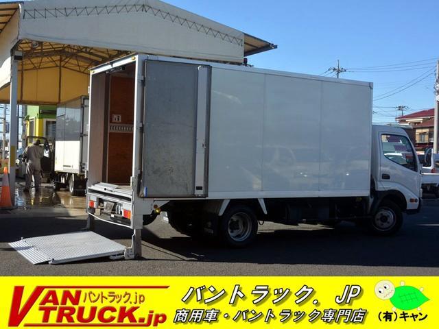 トヨタ ダイナトラック ワイドロング アルミバン スライドリフト 2トン MT チョーク 工具箱 ゲートサイズ約長さ135cm 幅191cm スロープまで長さ110cm スロープ幅177cm