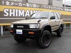 ハイラックスサーフSSR−G  Reメイク 新品ホイール&タイヤ ガソリン