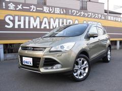 フォード クーガタイタニアム  正規D車 ワンオナ 黒革