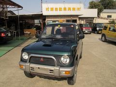 パジェロミニVR−IIターボ 4WD 禁煙車 ワンオーナー AW CD