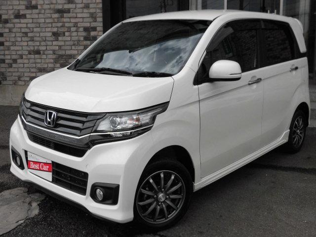 ホンダ G 4WD 純正エアロ ハーフ革シート スマートキー