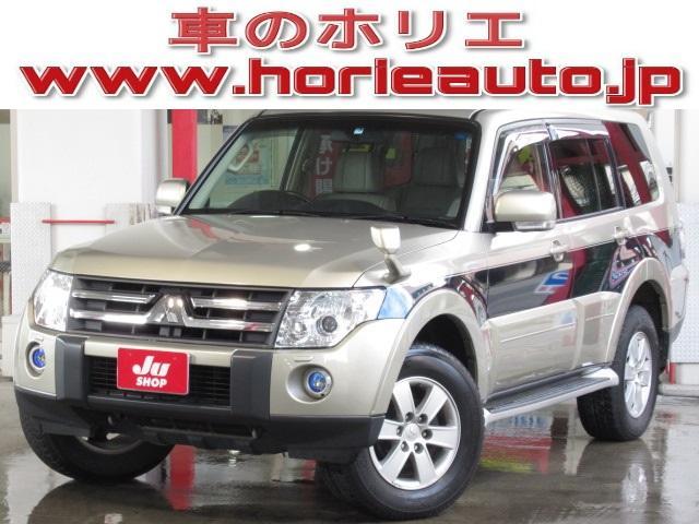 三菱 ロングエクシード 4WD社外HDD地デジBカメラ本革電動暖席