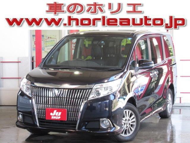 トヨタ Gi 純正9型ナビ後席フリップ両側電動セーフティー黒革暖席