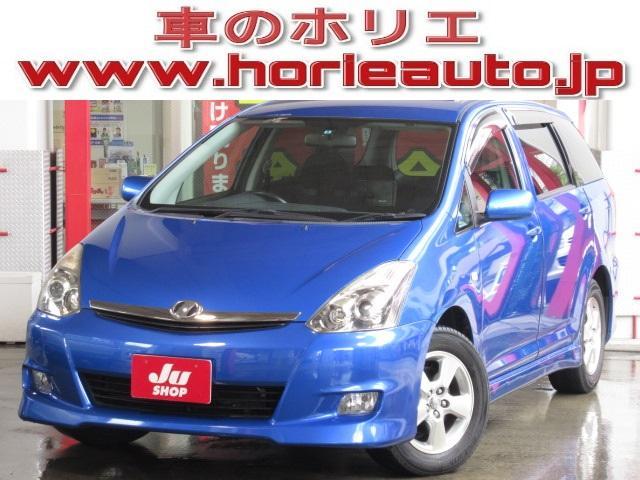 トヨタ X エアロスポーツパック 後期HDDナビ地デジ後席モニター