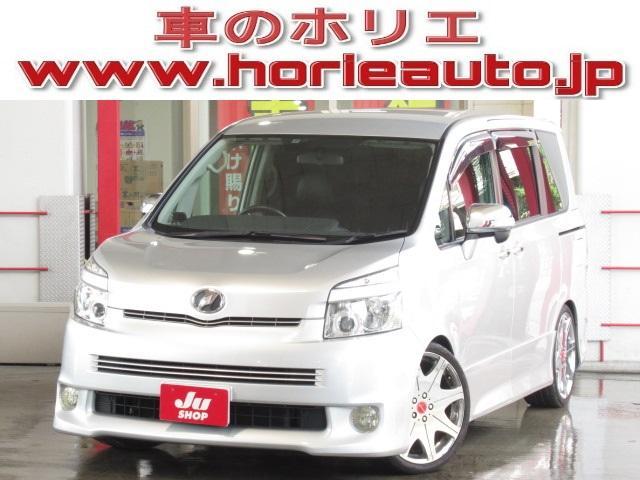 トヨタ ZS煌II 純HDD地デジ後席フリップ両側電動19AW車高調