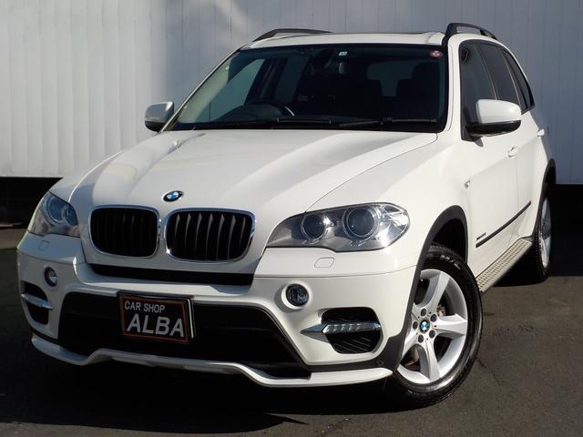 BMW xDrive 35i エアロダイナミックパッケージ 限定車 サンルーフ 純正HDDナビ バックモニター 黒革シート 革巻きステアリング ランニングボード パワーシート シートヒーター クリアランスソナー フルセグ ETC