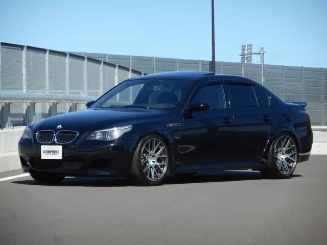 BMW E60 M5 アラゴスタ車高調 サクラムマフラー