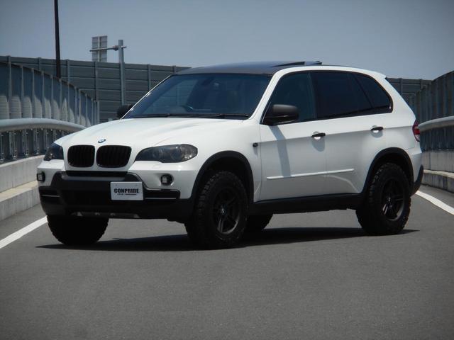 BMW X5 3.0si リフトアップ仕様 Rigid LEDライト