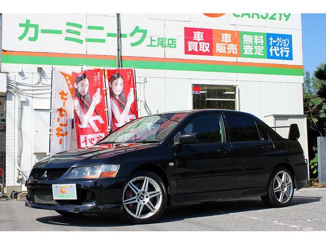 三菱 GSRエボリューションIX 17AW マフラー レカロシート