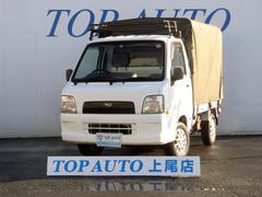 サンバートラックTB 4WD MT ナビ TV 無修復歴車