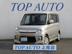 スペーシアカスタムTS ターボ 4WD ナビ ETC 1年保証付