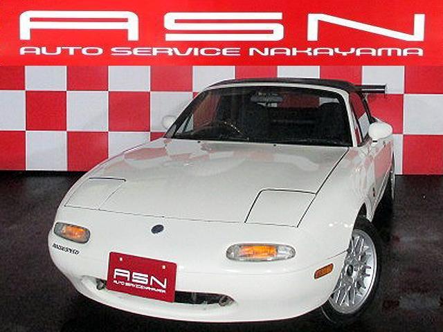 ユーノス ノーマルベース 車高調 新品幌 15AW Tベル済 CDT