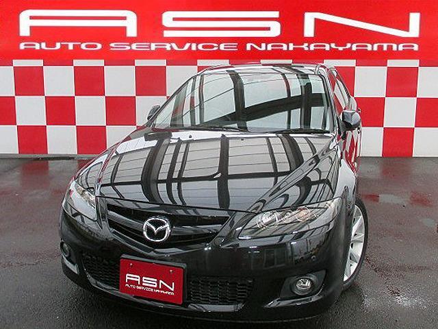 マツダ アテンザスポーツワゴン 23S タイミングチェーン HID CD ETC コーナーセンサー BOSEサウンド